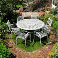 White_Maisie_Cast_Aluminium_Garden_Furniture_6