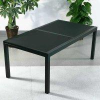 modern_6_seater_metal_aluminium_glass_top_black_extending_garden_outdoor_dining_table_set_11