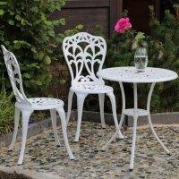 TULIP Set Bistrot - Bianco (2 sedie)
