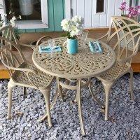 JILL Tavolo - Sabbia (2 sedie)