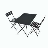 RACHEL Set Bistrot - Nero (2 sedie)
