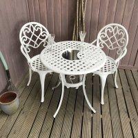 ICE BUCKET Set Bistrot - Bianco (2 sedie)
