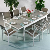 Modern_Large_8_Seater_Metal_Weatherproof_White_Champagne_Glass_Top_Extending_Garden_Furniture_Dining_Table_Set_8