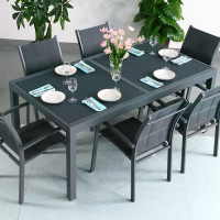 Modern_6_Seater_Metal_Aluminium_Glass_Top_Grey_Extending_Garden_Outdoor_Dining_Table_Set_3