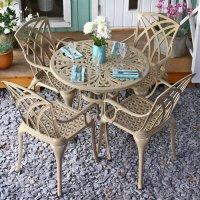 JILL Tavolo - Sabbia (4 sedie)