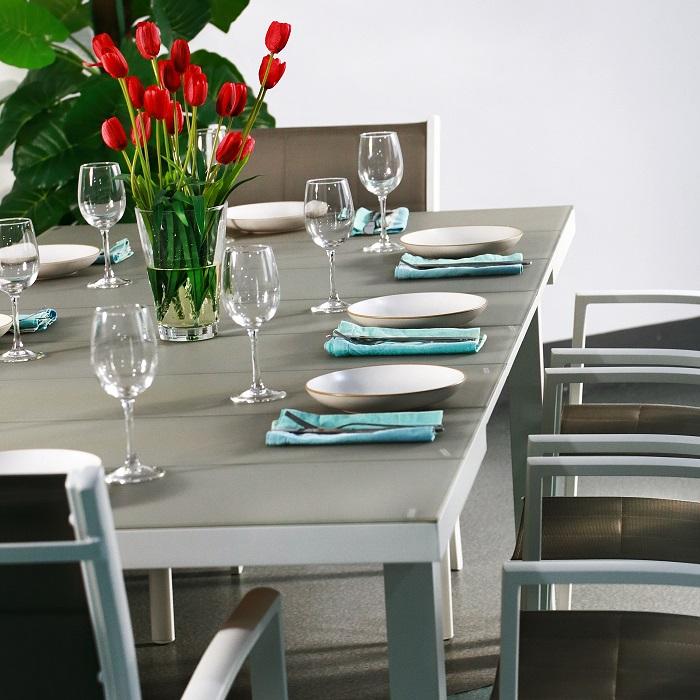 Lazy Susan FLORENCE tavolo da giardino moderno