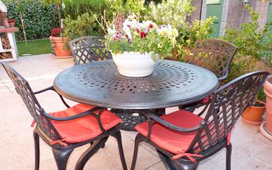 Mobili Da Giardino In Ferro : Mobili da giardino in metallo: mobili da giardino di alluminio e ferro